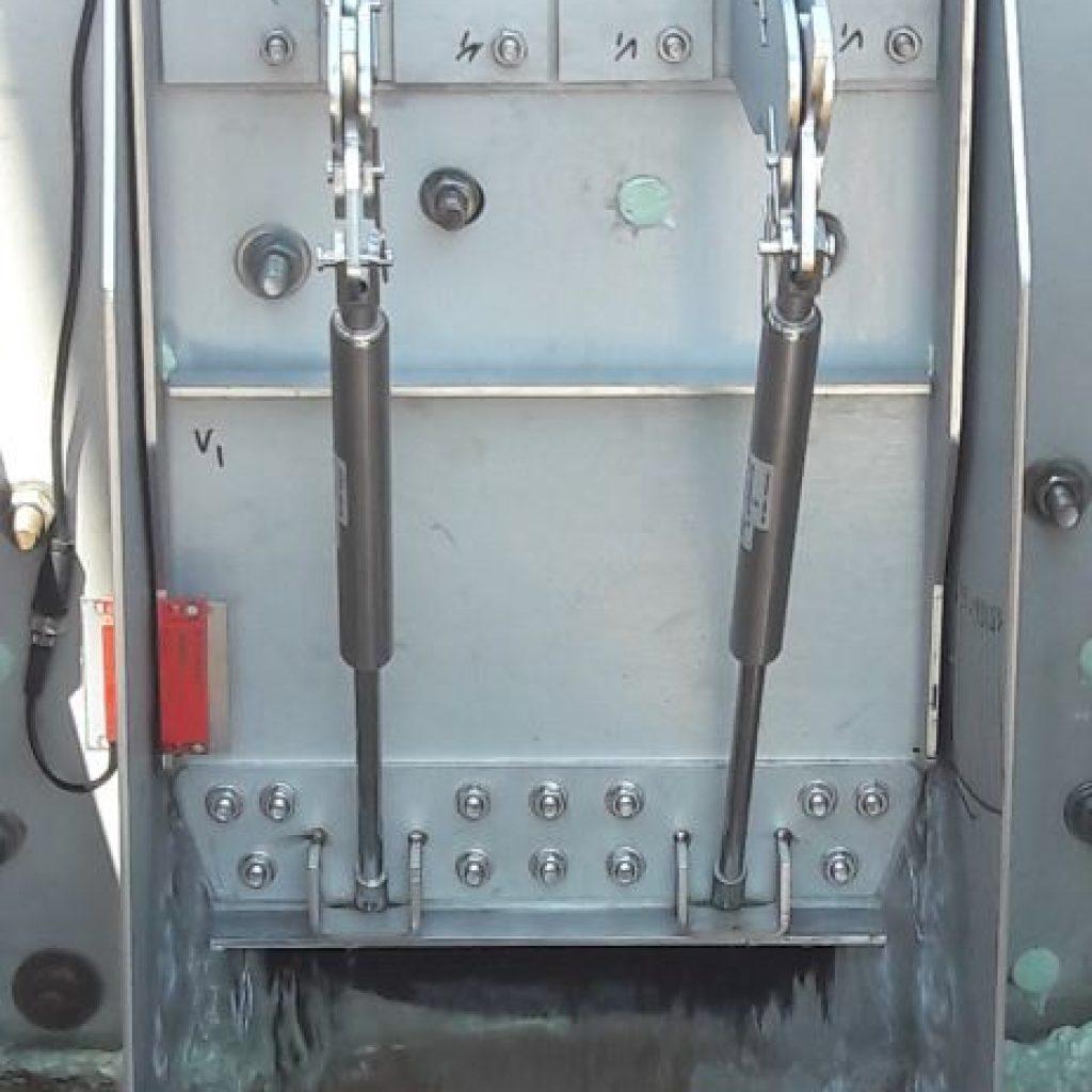 Capteur électro-magnétique schneider vue face des vannes FReg (Smart F-Reg)