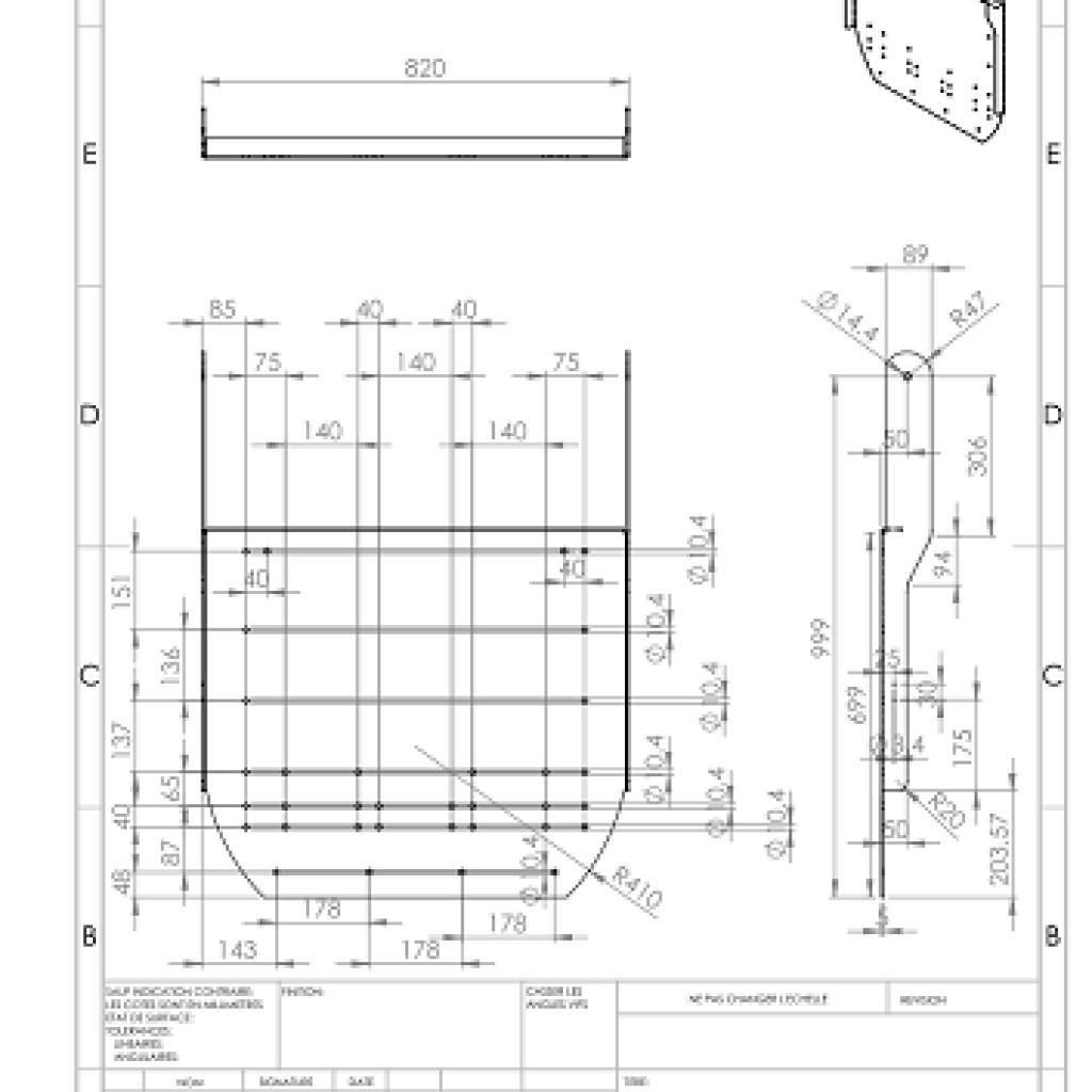 fabrication des vannes hydrodynamiques F-Reg sur plans