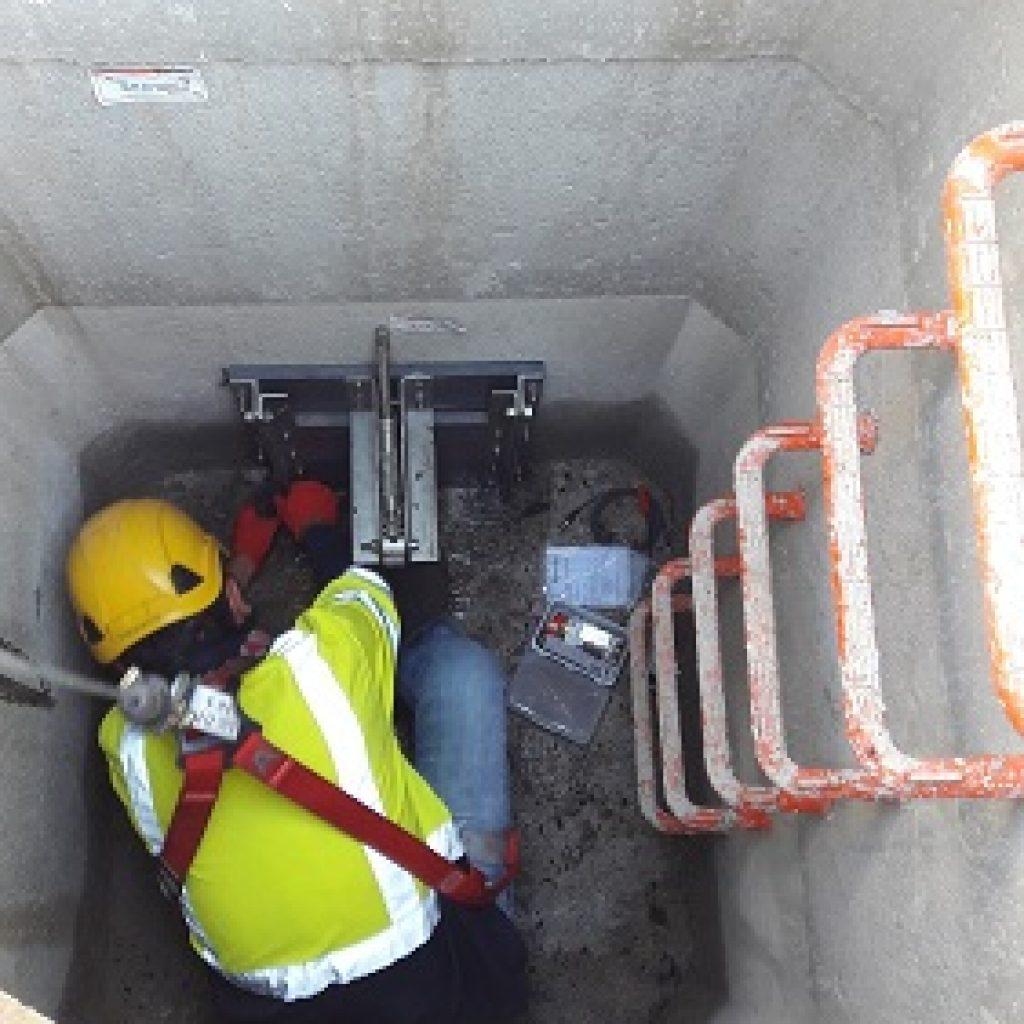 Installation vanne F-Reg rétention Marseille ch des accates