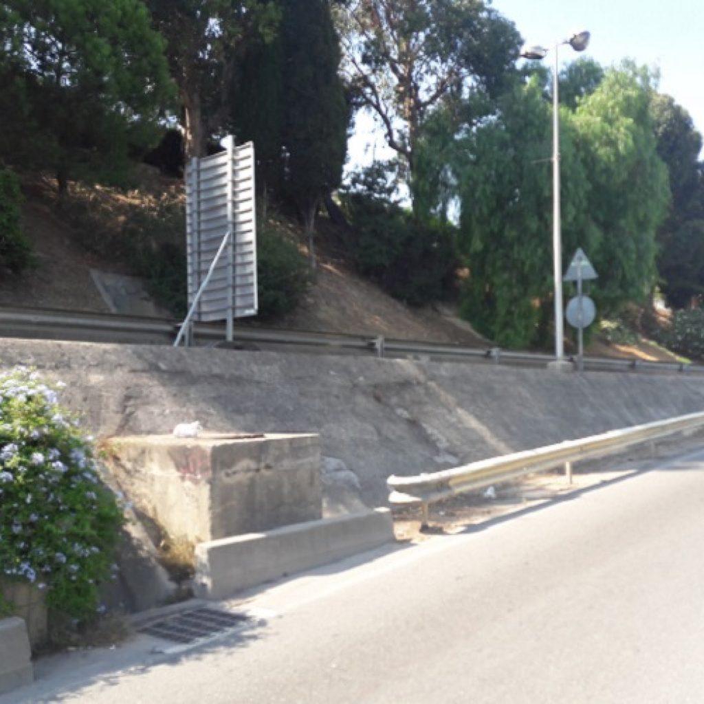Regard et voirie vanne de régulation vanne FReg Nice pont napoléon 3