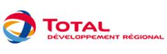 Logo Total développement régional partenaire F-Reg