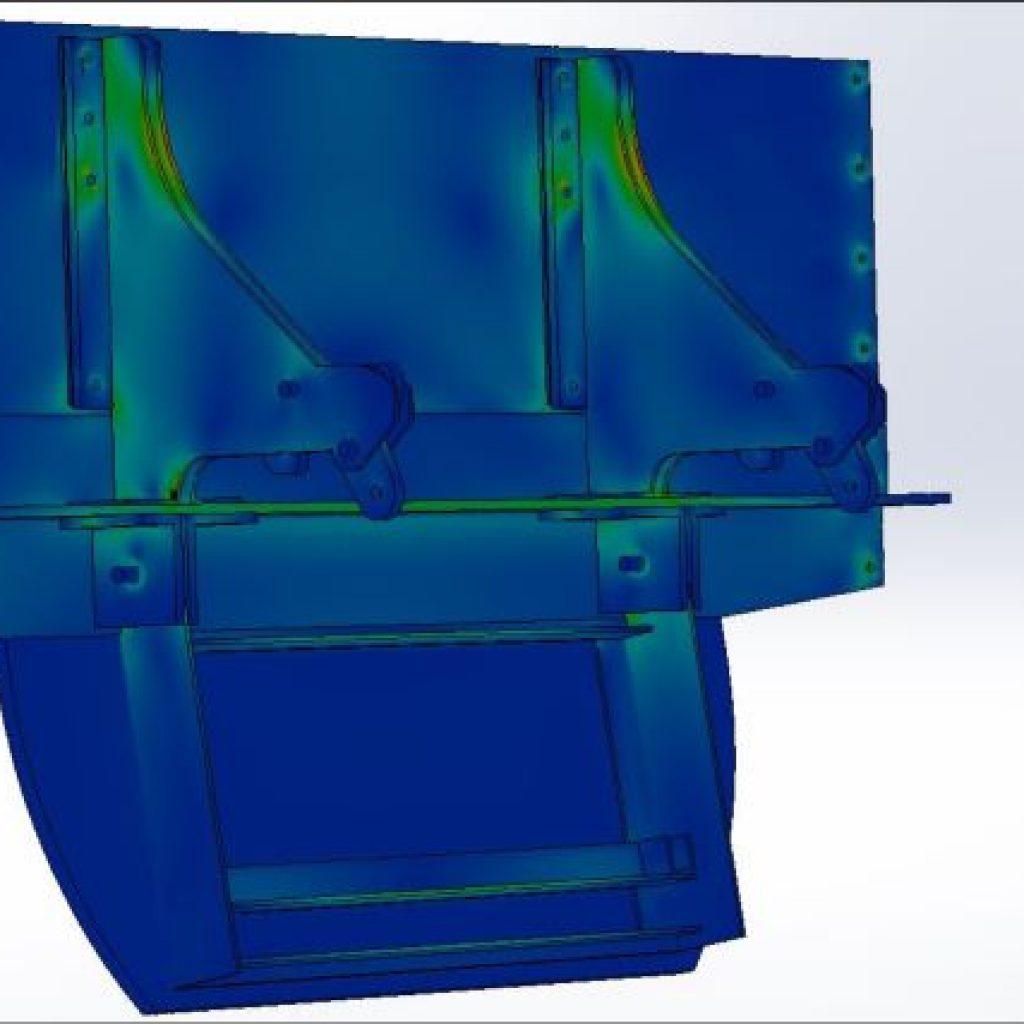 Conception vanne hydrodynamique autonome Freg 3d solidworks par notre bureau d'étude